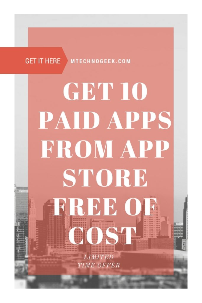Get 10 paid iPhone Apps on Sale FREE for Limited Time 2
