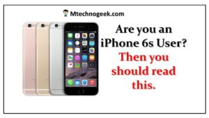 iPhone 6s – Apple says iPhone 6s shutdowns result of manufacturing issue
