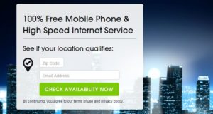 Get 100% Free Internet & Mobile Phones