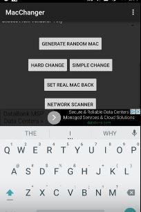 Mac Address Changer - Xfinity Wifi Hacker 3