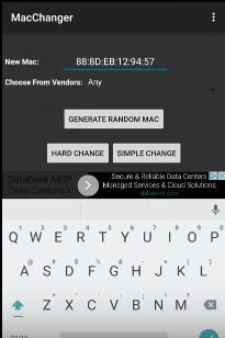 Mac Address Changer - Xfinity Wifi Hacker 4