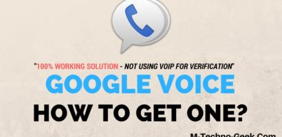 Get Google Voice Account Verification Outside The USA