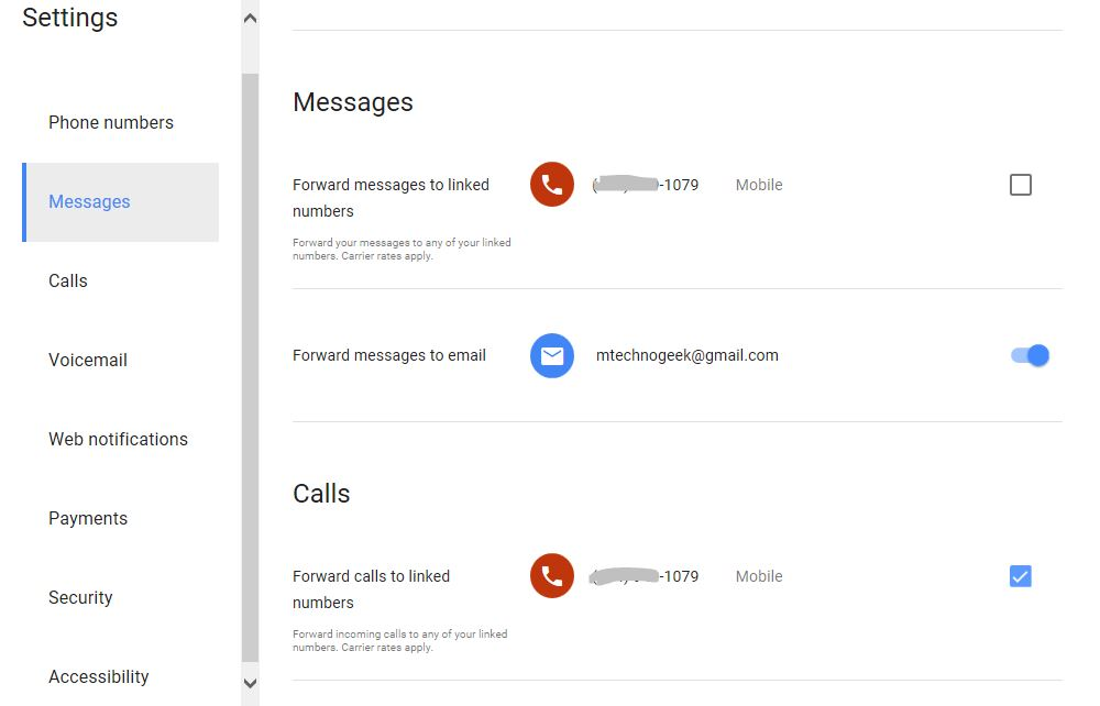 Google Voice Account and FREE Google Voice Number Outside USA 14